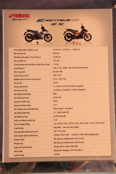 Spesifikasi Yamaha Jupiter MX King / Exciter 150