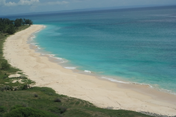 sisi kiri pulau