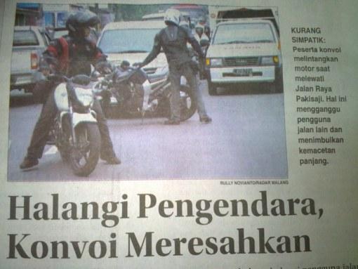 Yang kaya begini bikin malu bikers . Pic by bennythegreat