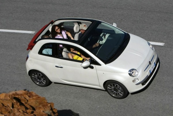 Fiat 500C. Pic by earthandindustry