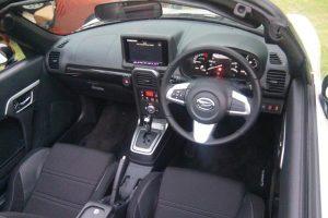 Interior Daihatsu Copen. Pic by autobild