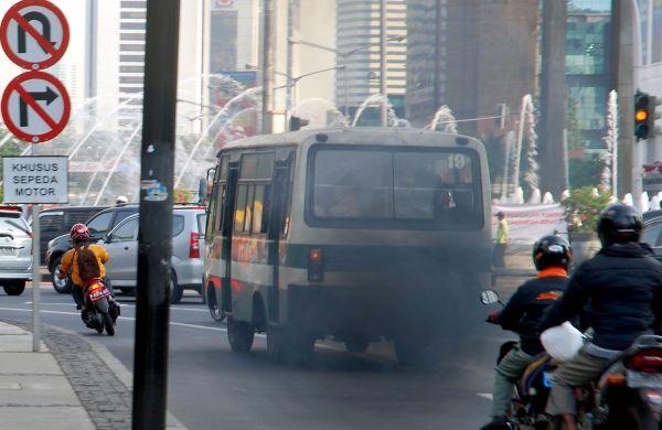 Fogging di jalan. Pic by anekatop10