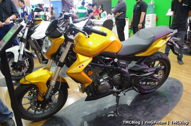 Benelli TNT 250. Pic by TMCBlog