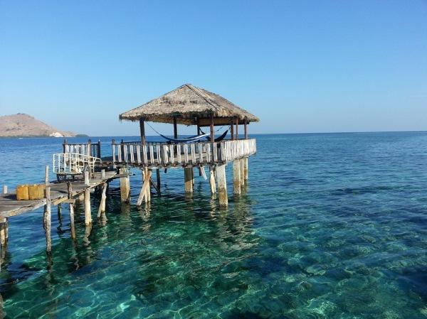 Dermaga pulau kanawa. Pic by wikitravel