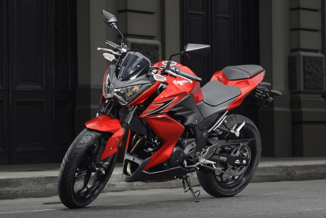 Kawasaki Z250. Pic by Indianautosblog