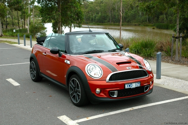 Mini Cooper S Cabriolet. Pic by caradvice