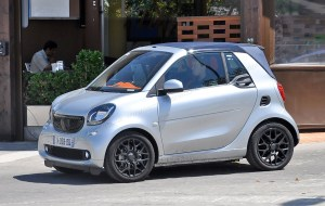 Smart Fortwo model 2015. Pic by carmagazine