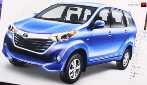 Toyota New Avanza Facelift 2015