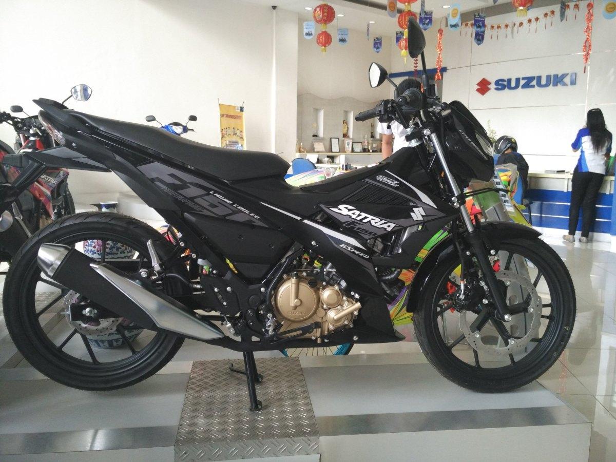 Galeri Foto Detail Per Bagian Suzuki Satria F150 Injeksi Cuaprider Knalpot F Ori